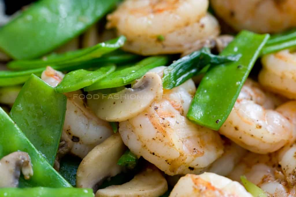 Chinese Five Spice Shrimp Stir Fry with Snow Peas | Food Fashion and ...