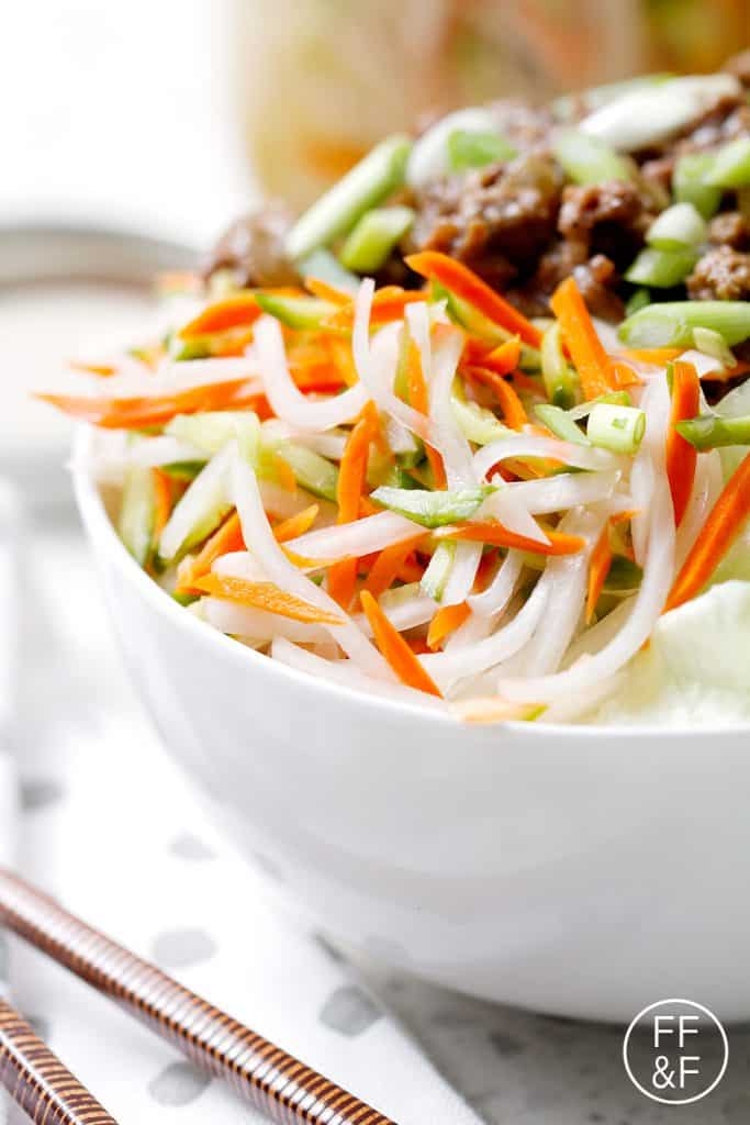 Vietnamese Pickled Vegetables | Food Fashion and Fun.