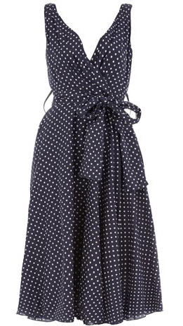 Navy Polka  Dress on Summer Dresses For Under  100   Food Fashion And Fun