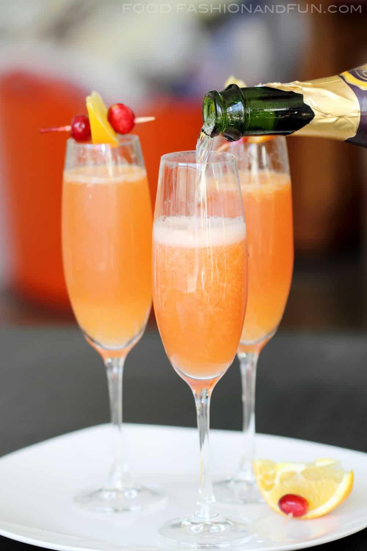 Cranberry orange mimosas bon aippetit for Cocktail mimosa