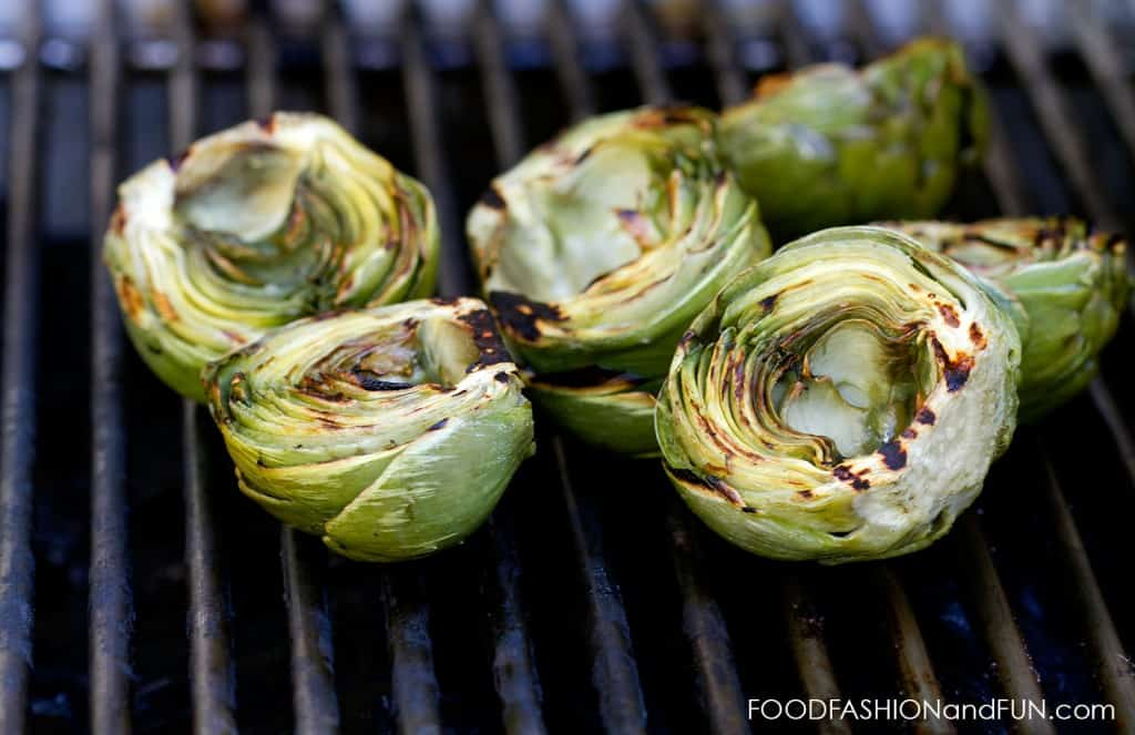 artichokes, grilled, mayo, lemon, cilantro, green, jalapeno, vegetable, vegetarian, recipe