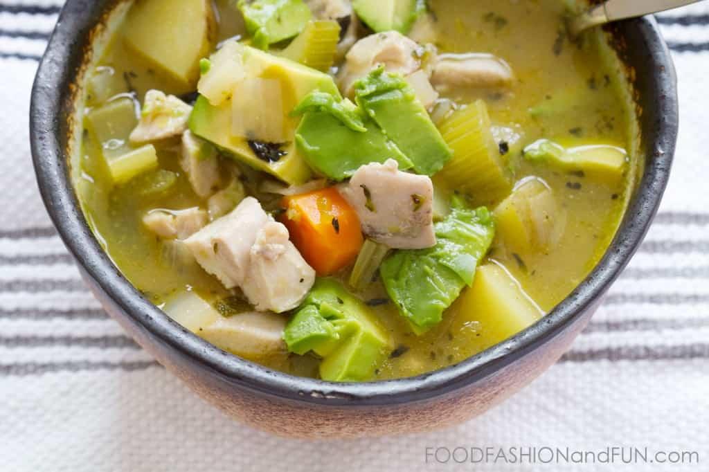 jalapeño, chicken, potato, avocado, carrots, soup, stew,