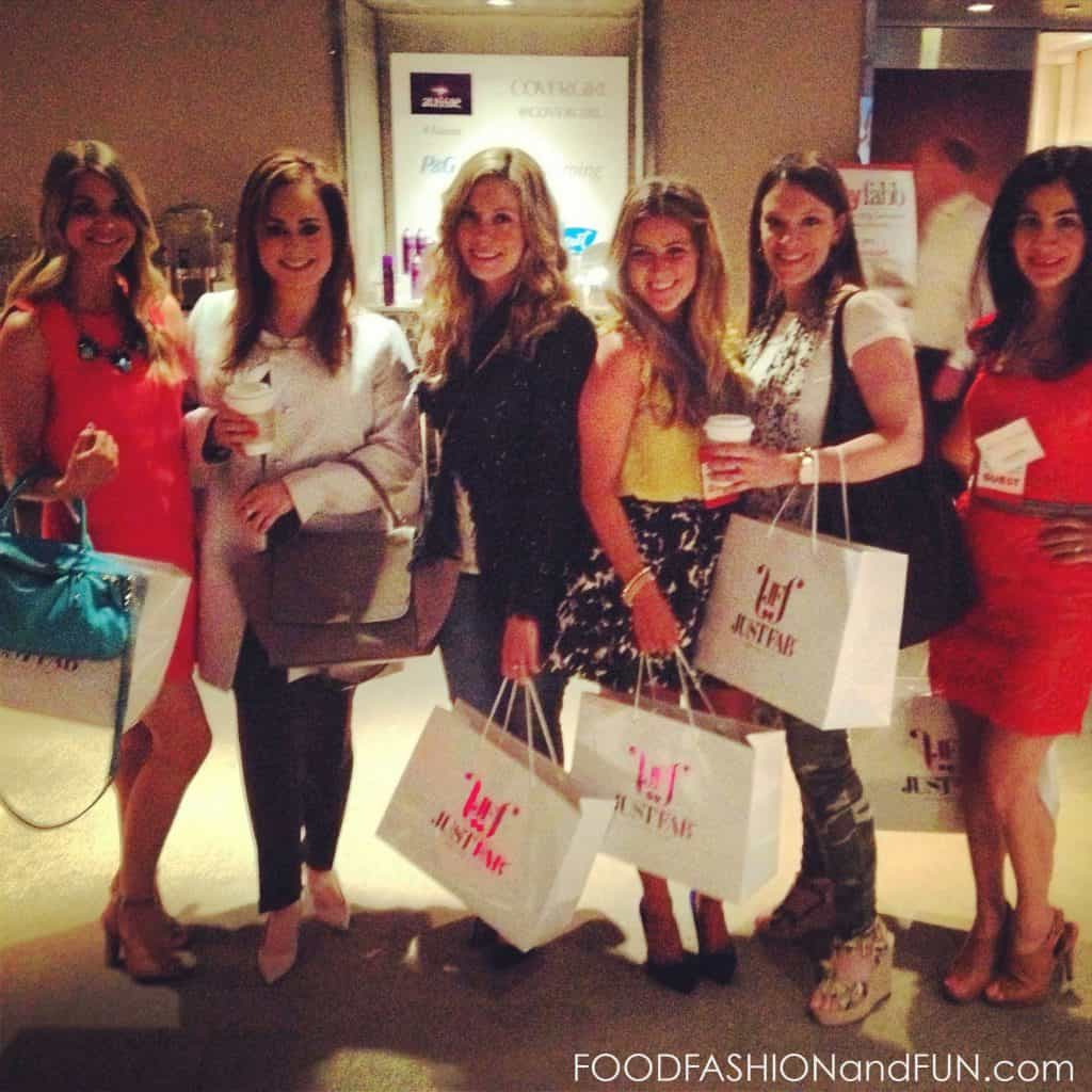 lucky magazine, lucky fabb, fashion bloggers, foodfashionandfun.com, friends, fashion bloggers, justfab.com