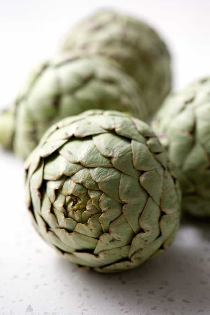 whole fresh artichokes