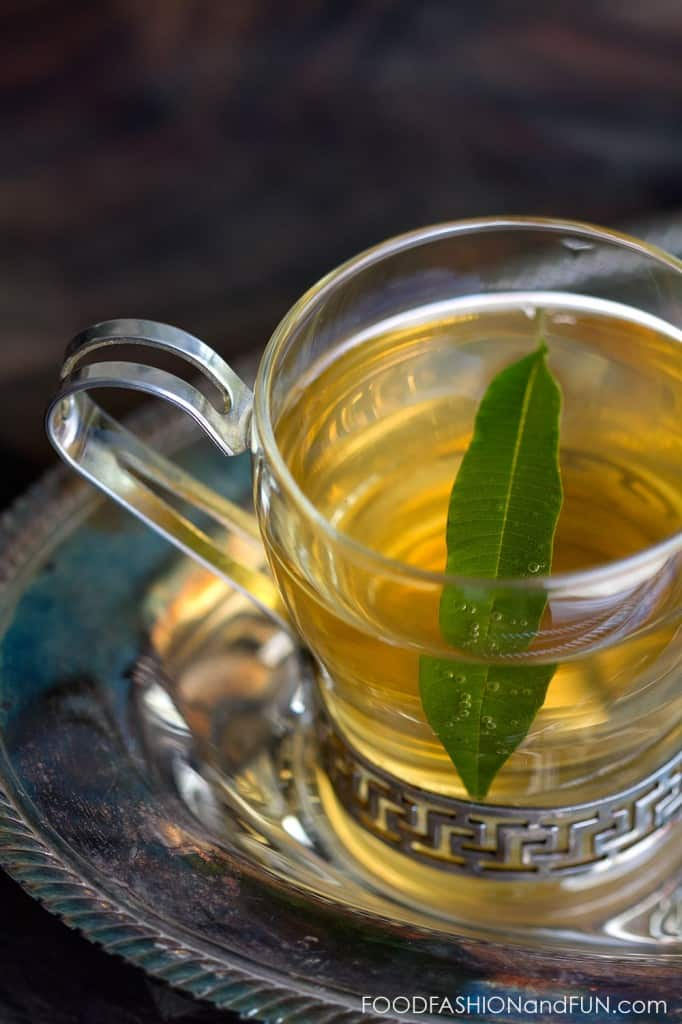 tea but there isn t any tea in it the tea comes from the lemon verbena ...