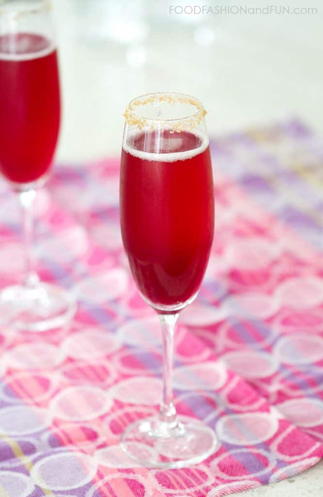 whiskey, champagne, drink, pineapple juice, Grenadine Syrup, foodfashionandfun, food blog, lifestyle blog,