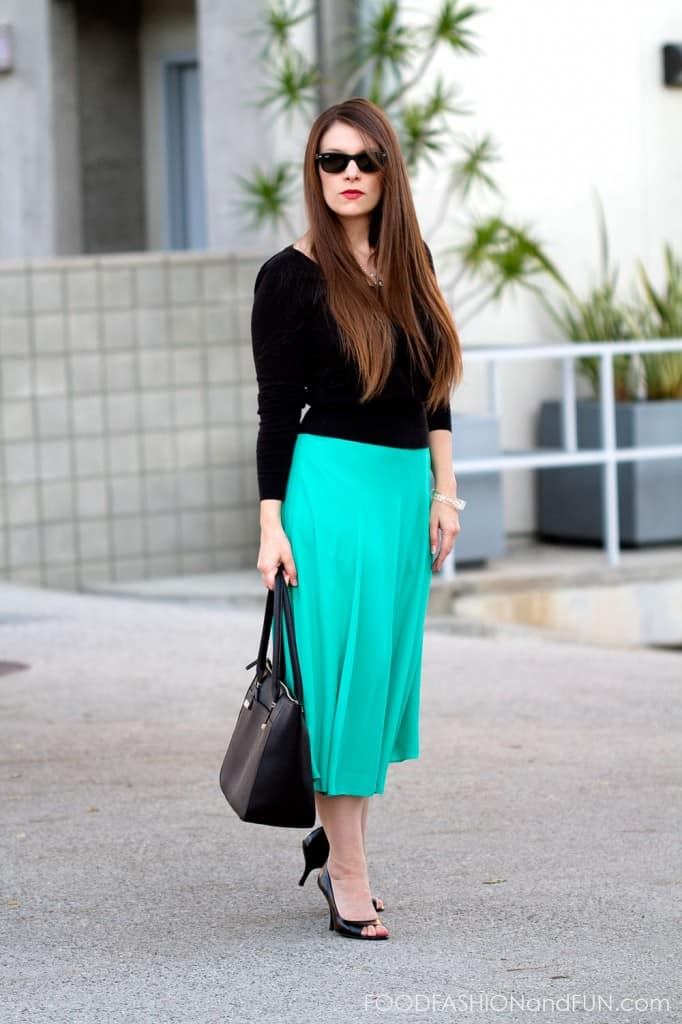 What To Wear With An A Line Skirt - Dress Ala