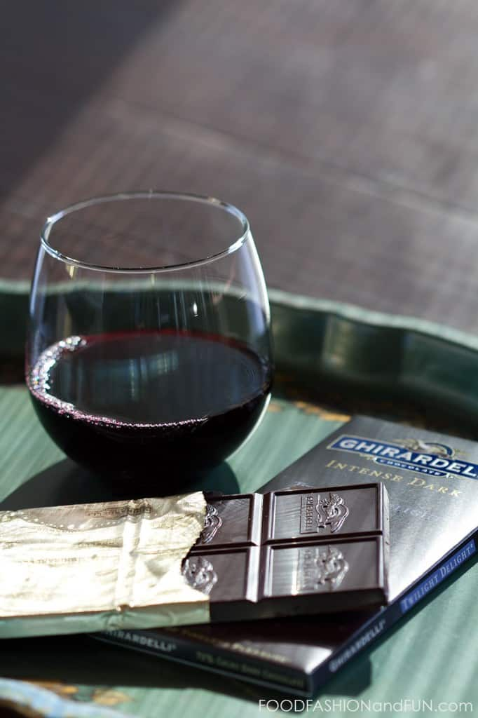 Ghirardelli, chocolate, wine, red wine, pairings, food fashion and fun, food blogger, lifestyle blogger