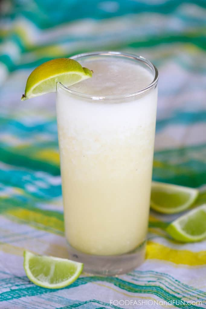 pineapple juice, banana, tequila, triple sec, drink, margarita, cocktail, recipe, lifestyle blogger, food blogger