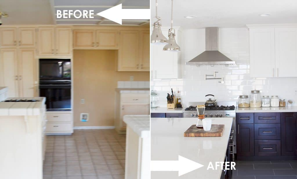 The Kitchen: Before and After