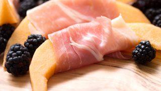 Cantaloupe and Prosciutto