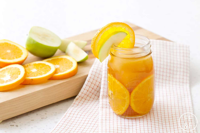 bourbon, orange, fruit, drink, apple cider, cocktail, apple, foodfashionandfun, food blog