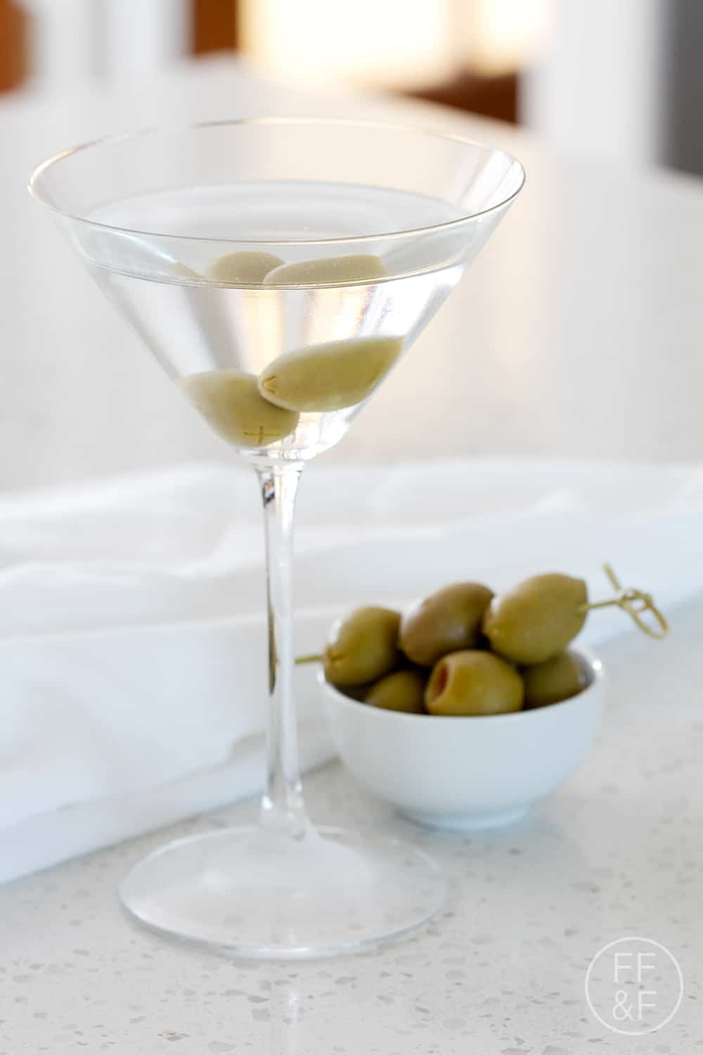 Bottoms Up: The Classic Dirty Martini