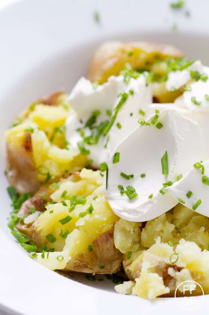 perfect baked potato from foodfashionandfun.com