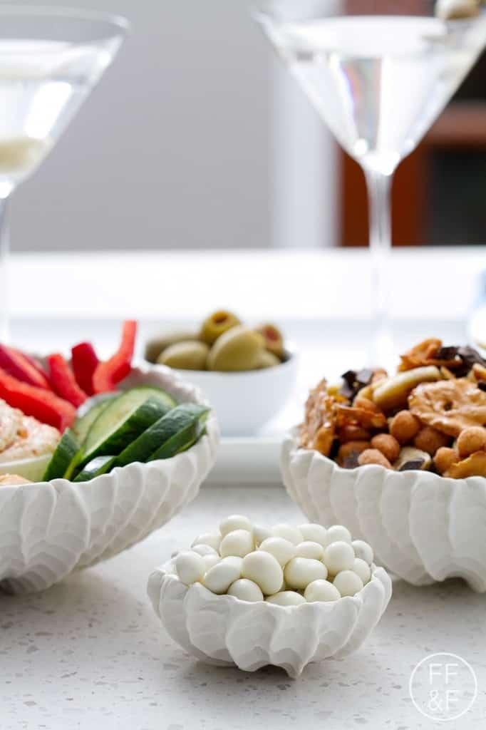 bespoke, sponsored post, lifestyle blog, entertaining, foodfashionandfun, trail mix, snacks, veggies hummus, dip