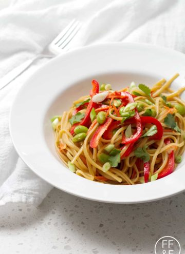 Asian Noodle Salad from Foodfashionandfun.com