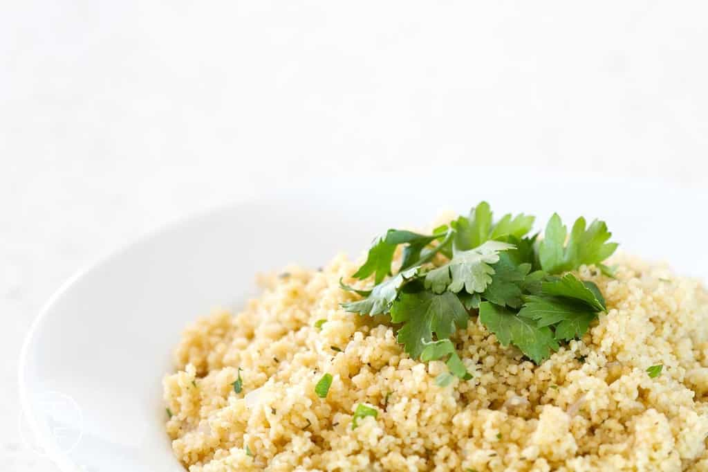 Herbed Couscous from foodfashionandfun.com