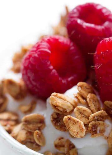 Nut Free Granola from foodfashionandfun.com