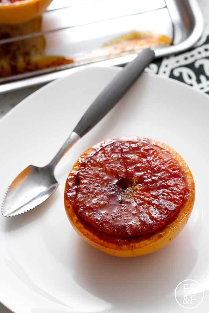 Grapefruit Bourbon Brûlée from Foodfashionandfun.com