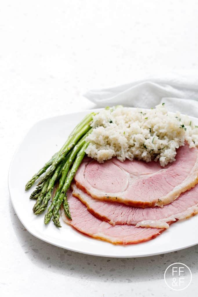 Fig Glazed Ham from Foodfashionandfun.com