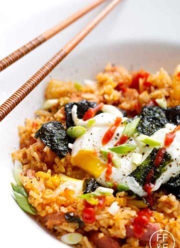 Kimchi Fried Rice from Foodfashionandfun.com