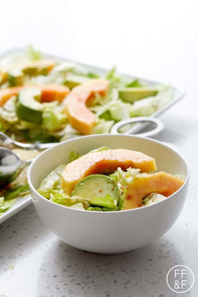 Spicy Mango And Avocado Salad Recipe — Dishmaps