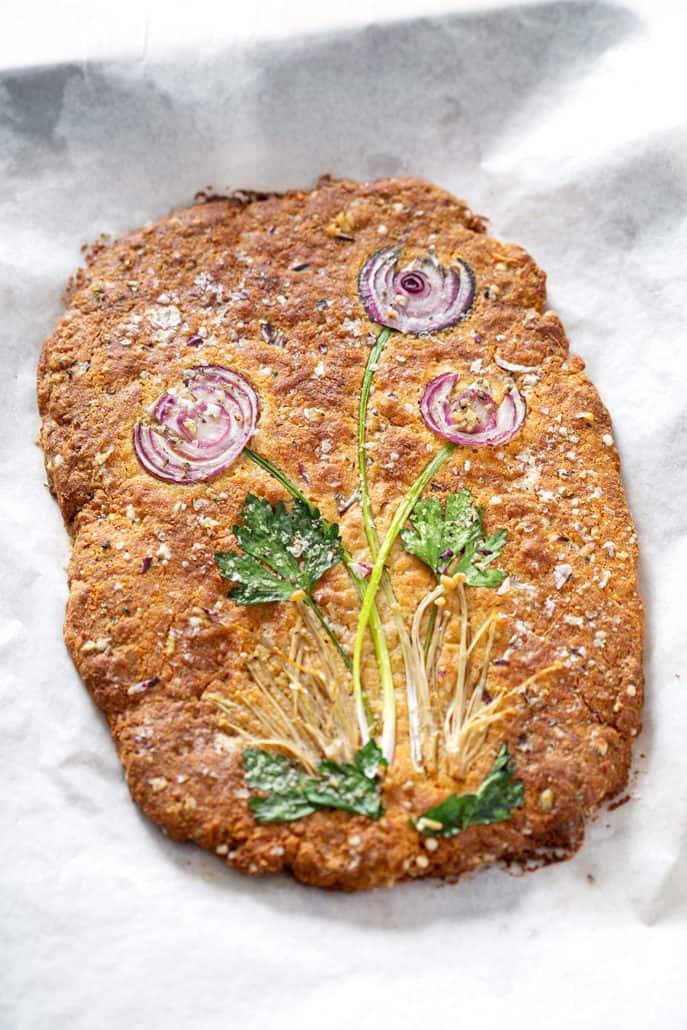 AIP Focaccia Bread art