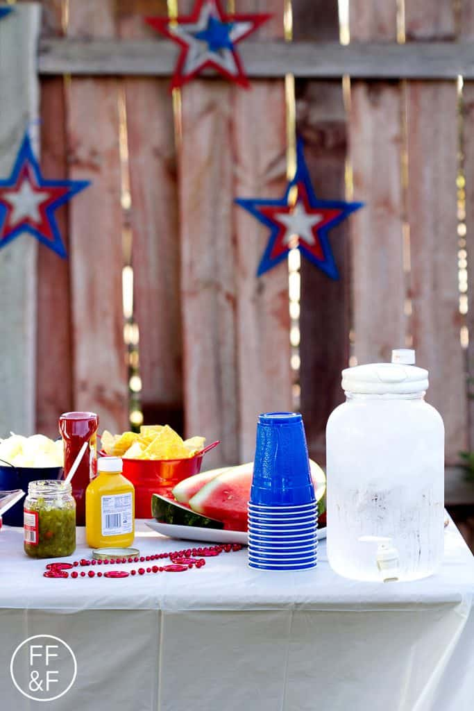 How to Host a 4th of July Cook Out
