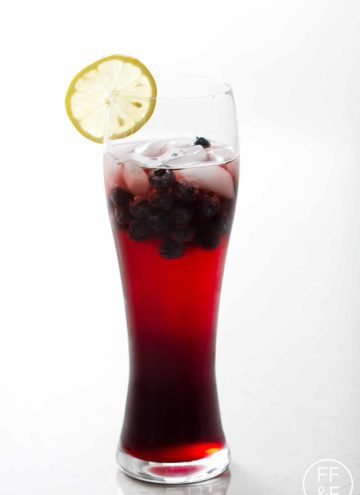 Non-Alcoholic Berry Sangria from foodfashionandfun.com