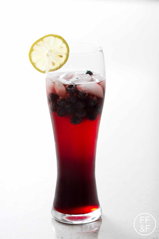 Non-Alcoholic Berry Sangria from foodfashionandfun.com