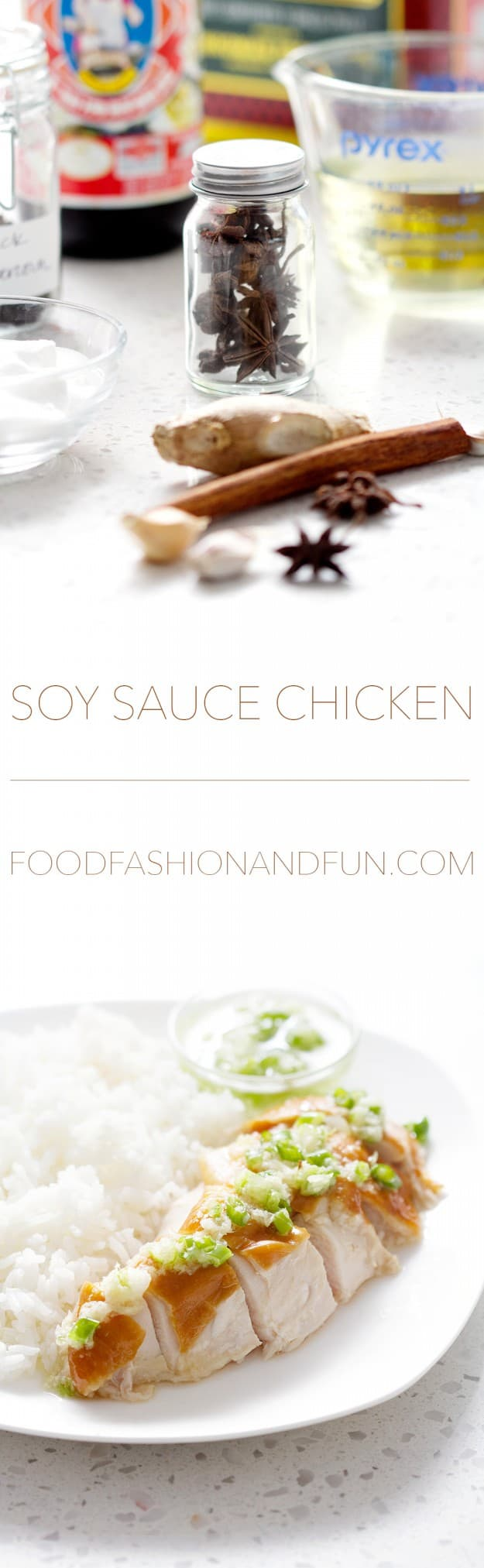 Soy Sauce Chicken from Bon Aippetit