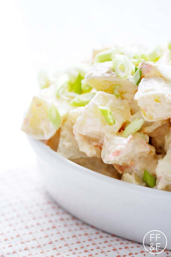 Spicy Asian Potato Salad from foodfashionandfun.com