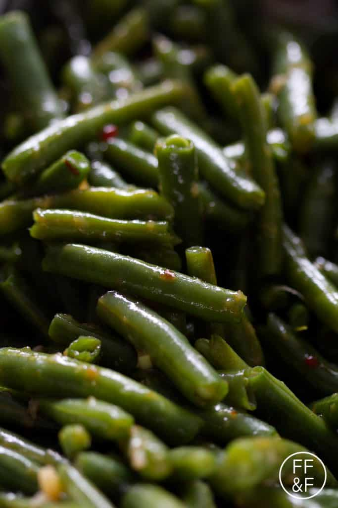 Sweet Chili Green Beans from Food Fashion and Fun