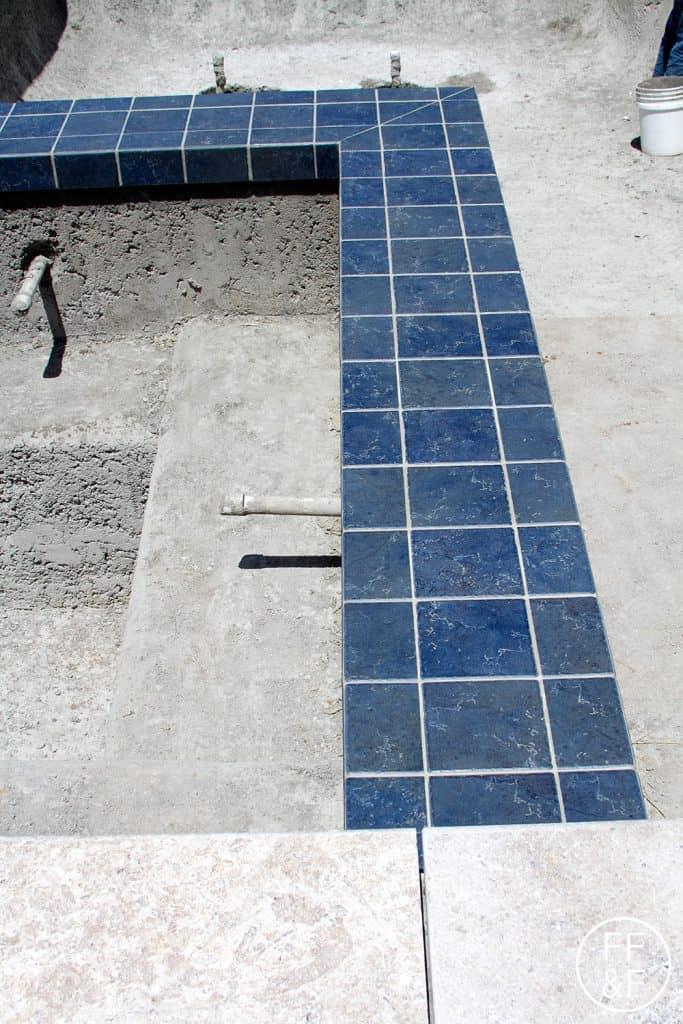 And Backyard Renovation Pool Tile And Coping Food Fashion And Fun