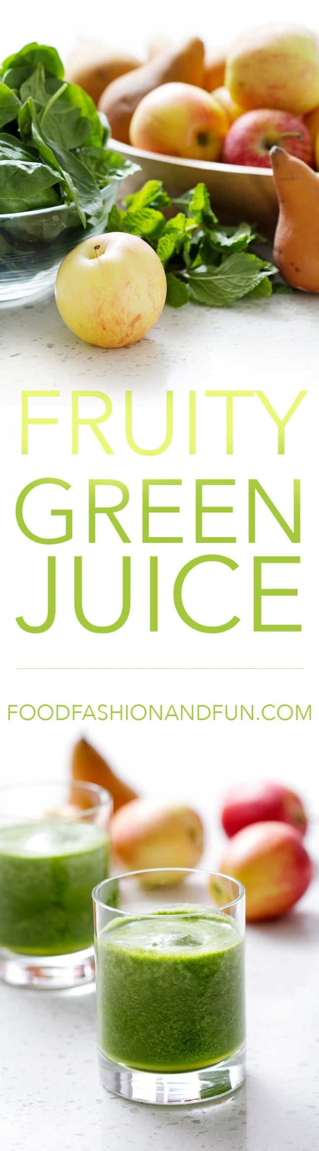 Fruity Green Juice