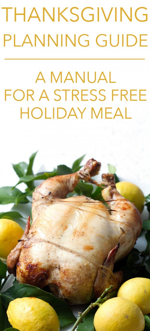 Thanksgiving Planning Guide: A Manual for a Stress Free Holiday Meal. Although this could be used for ANY holiday meal.