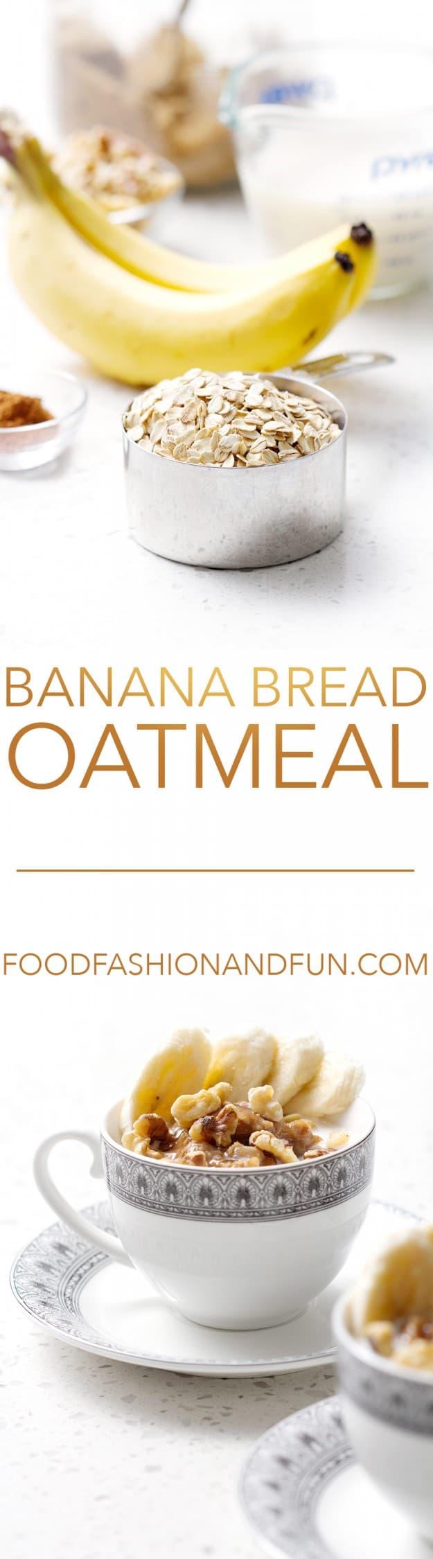 Banana Bread Oatmeal | Bon Aippetit