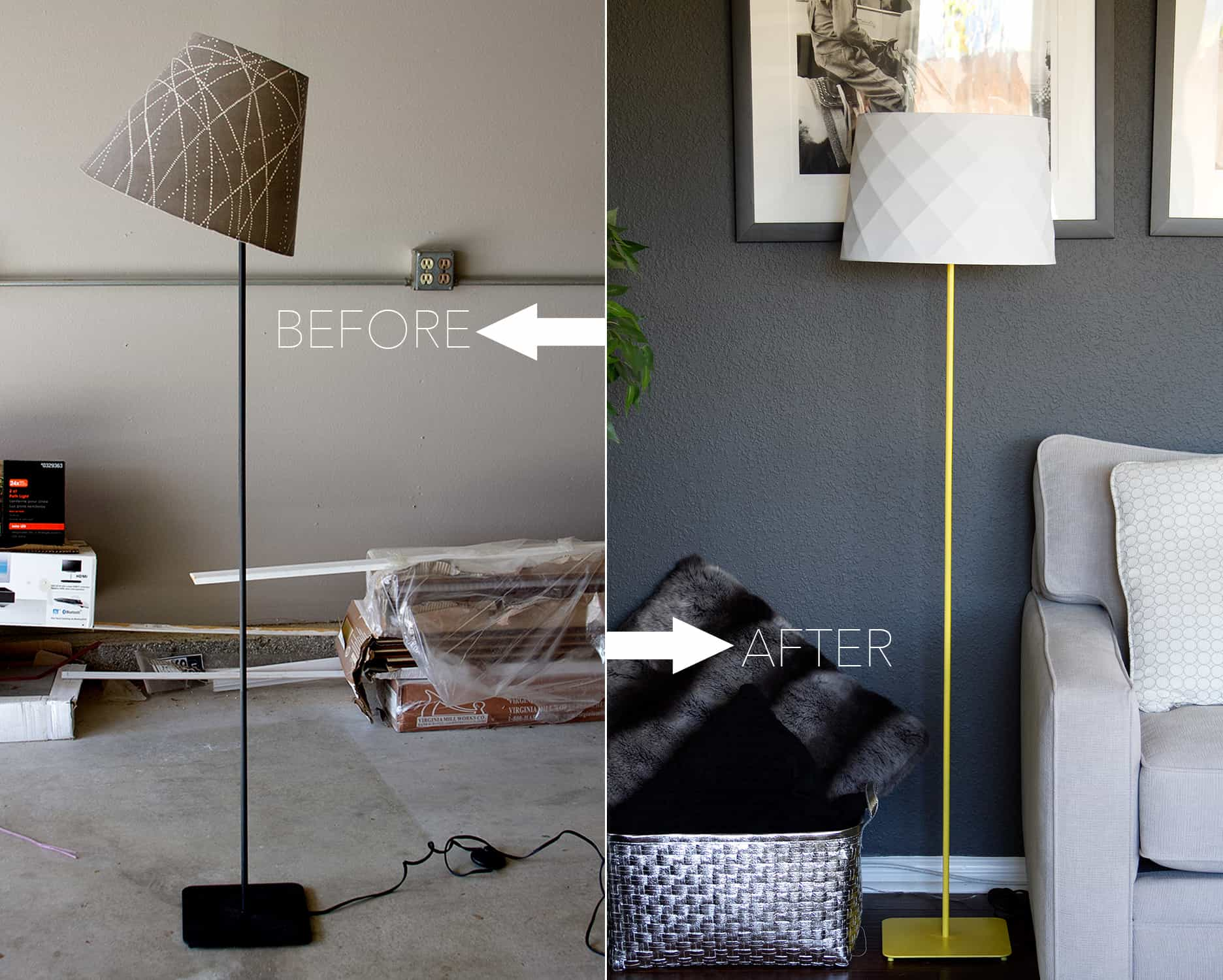 Simple DIY Lamp Makeover