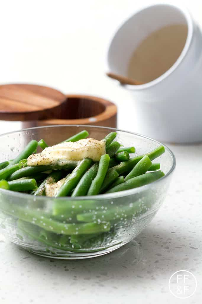 Basic and delicious recipe for Green Beans.