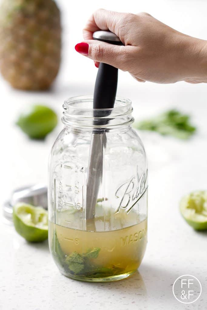 PIneapple Mojitos