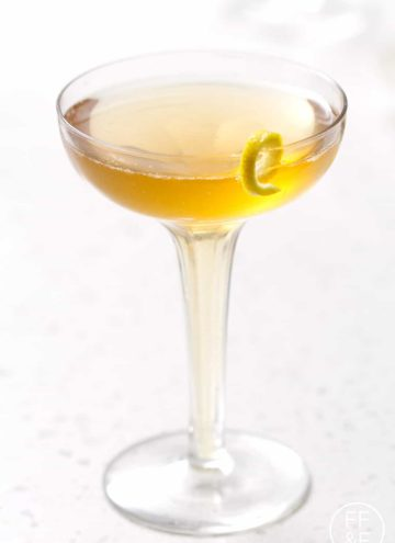 Sparkling Lemon and Honey Cider (mocktail)   Bon Aippetit