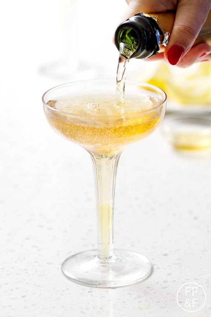Sparkling Lemon and Honey Cider (mocktail) | Bon Aippetit