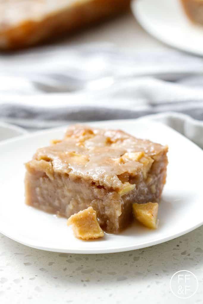 Gooey Apple Sheet Cake