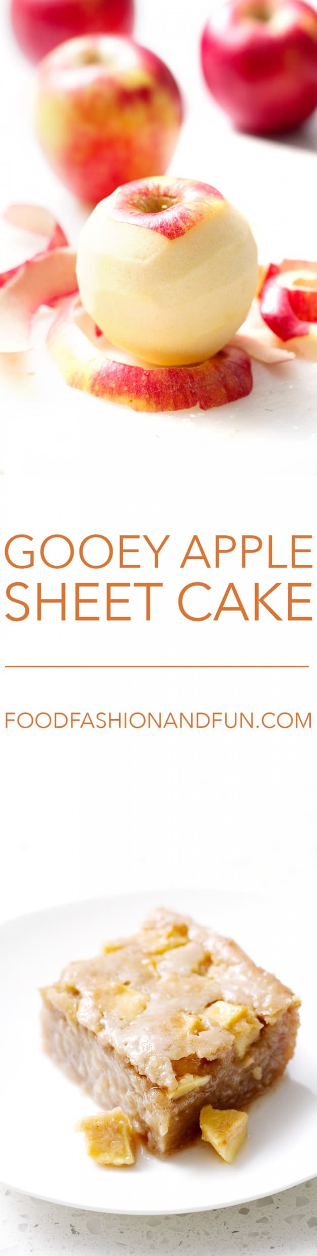 Gooey Apple Sheet Cake