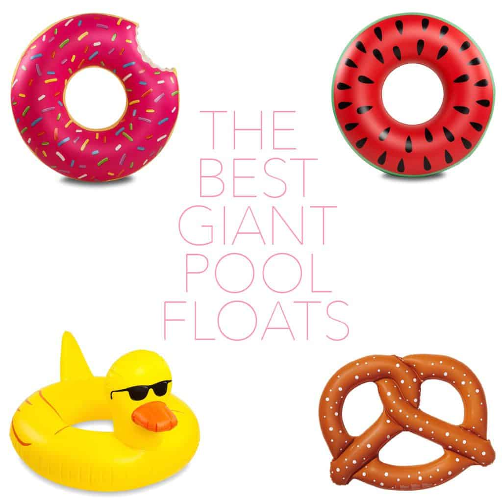 The Best Giant Pool Floats!