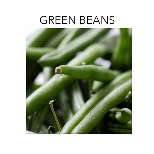 Green beans are in season right now. Click to find recipes at foodfashionandfun.com.
