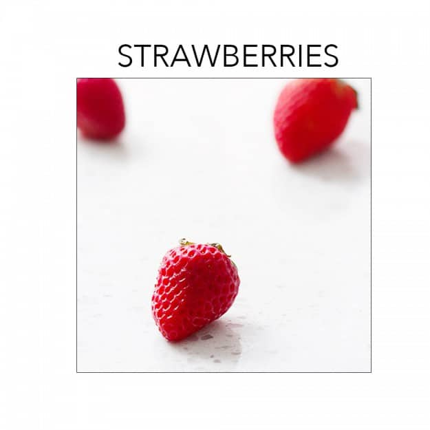 Strawberries are in season right now. Click to find recipes at foodfashionandfun.com.