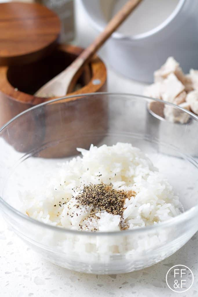 how to make white rice with cilantro
