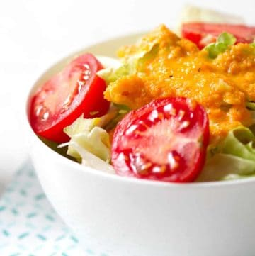 Carrot Ginger Dressing just like the one you get at a Japanese restaurant!
