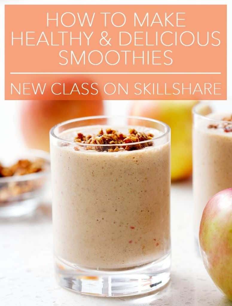 How to make healthy smoothies. New class on Skillshare.
